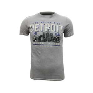 Men's General Motors World Headquarters Detroit  Motor City T-shirt - GM Company Store