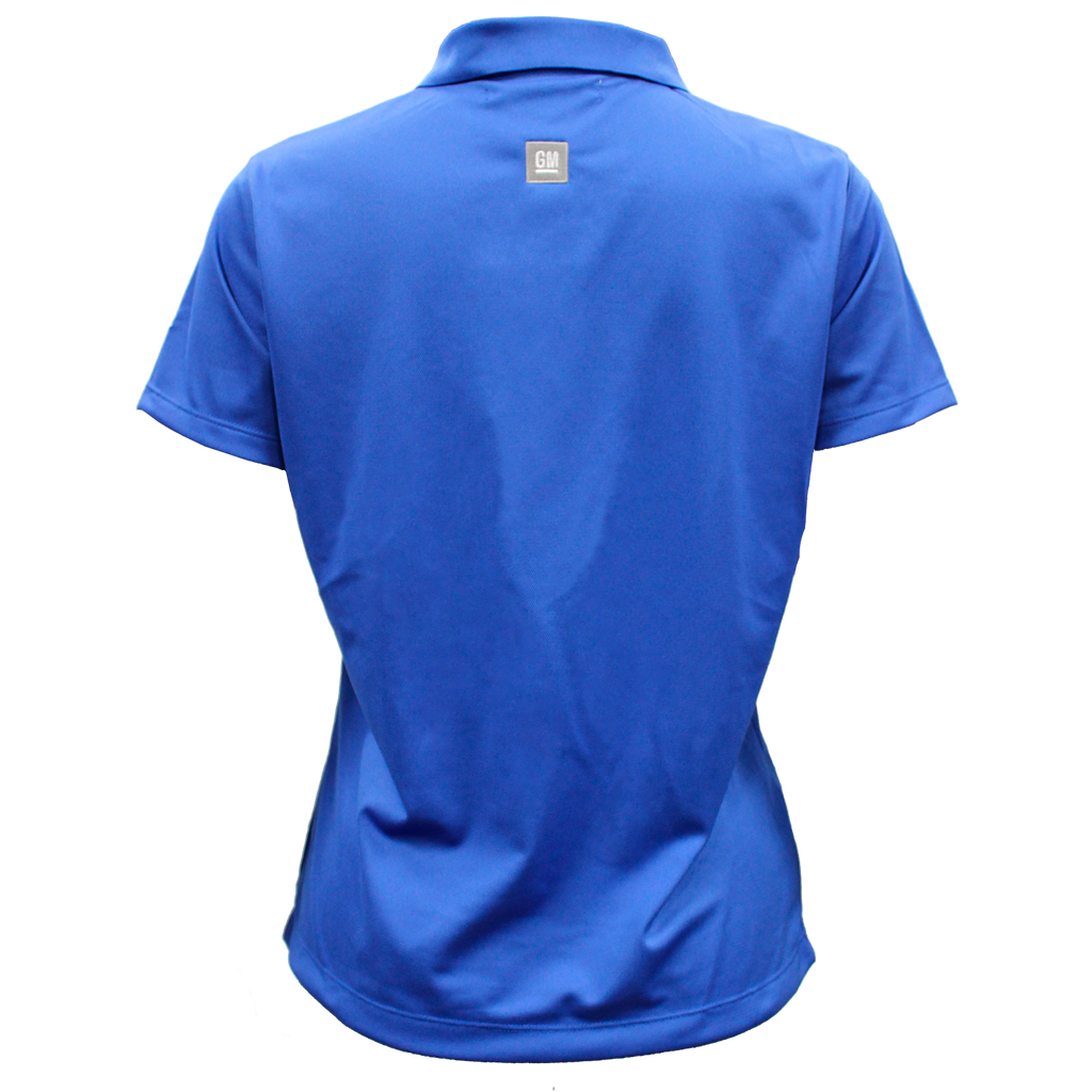 General Motors Ladies Nike Dri Fit Polo- Royal