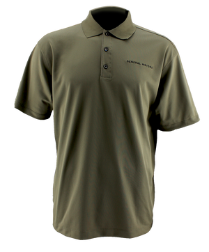General Motors Men's Nike Golf Tech Polo. Olive. - GM Company Store