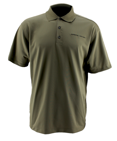 General Motors Men's Nike Golf Tech Polo. Olive.