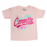 Girl's I Love Corvette Tee - GM Company Store