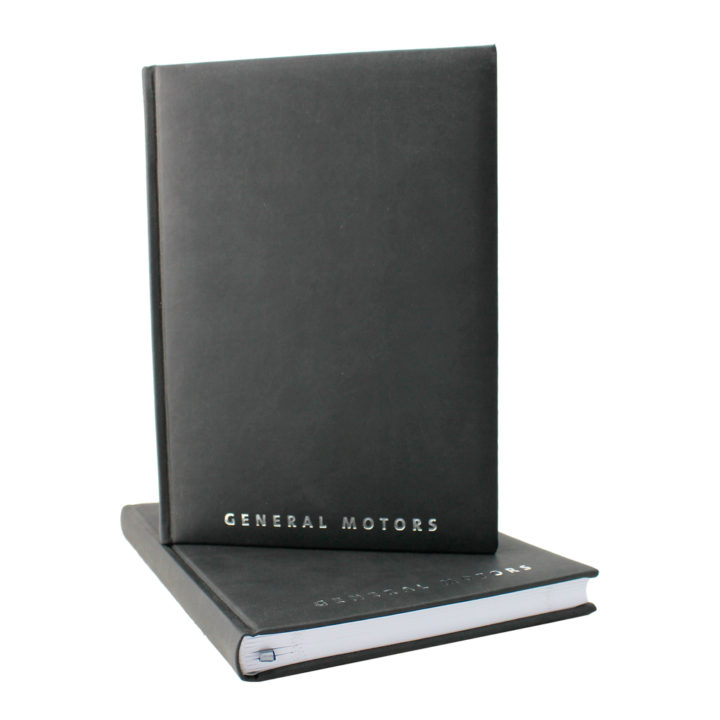 General Motors Journal -  Black with Silver Logo