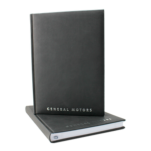 General Motors Journal -  Black with Silver Logo - GM Company Store