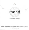 Mend On The Move Heartfelt Necklace