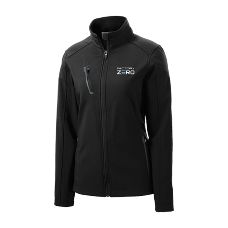 General Motors Factory Zero Ladies' Welded Soft Shell Jacket