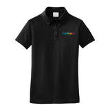 GM Women- Nike Dri-FIT Pebble Texture Polo - Black