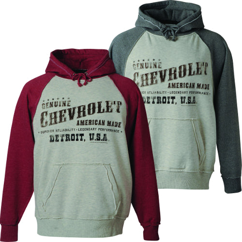 Chevrolet Vintage Detroit Hoodie - GM Company Store