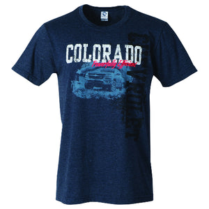 Chevrolet Colorado Truck Eventide  Tee-Navy - GM Company Store