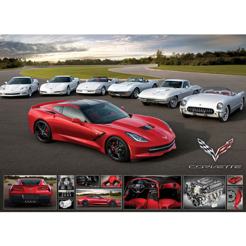 2014 Corvette Stingray Puzzle - GM Company Store