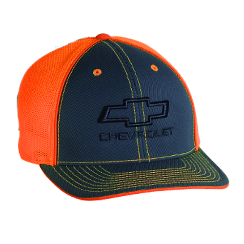 Chevrolet Bowtie Neon Fitted Hat - GM Company Store
