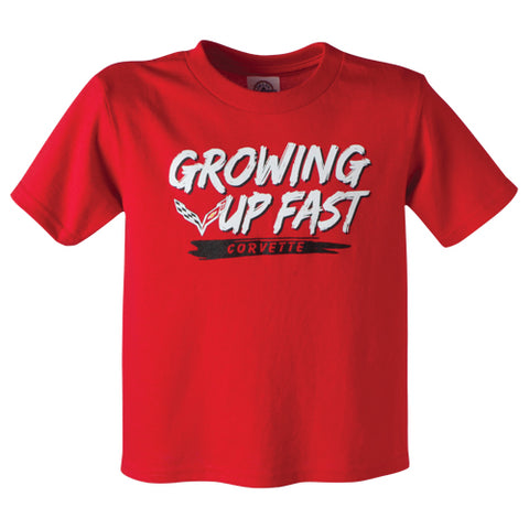 Toddler Corvette Growing Up Fast Tee