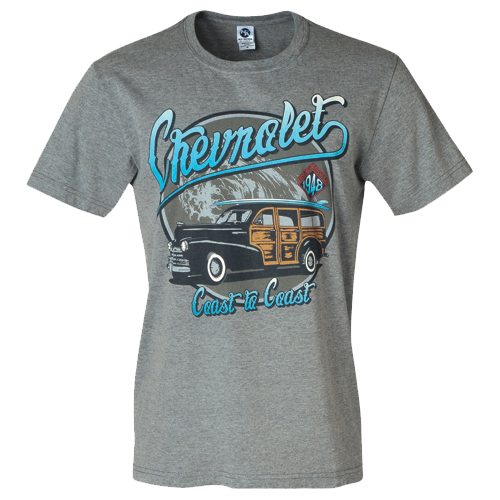 Chevy Coast to Coast Tee - GM Company Store
