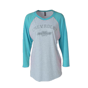 Ladies Chevrolet Baseball Tee