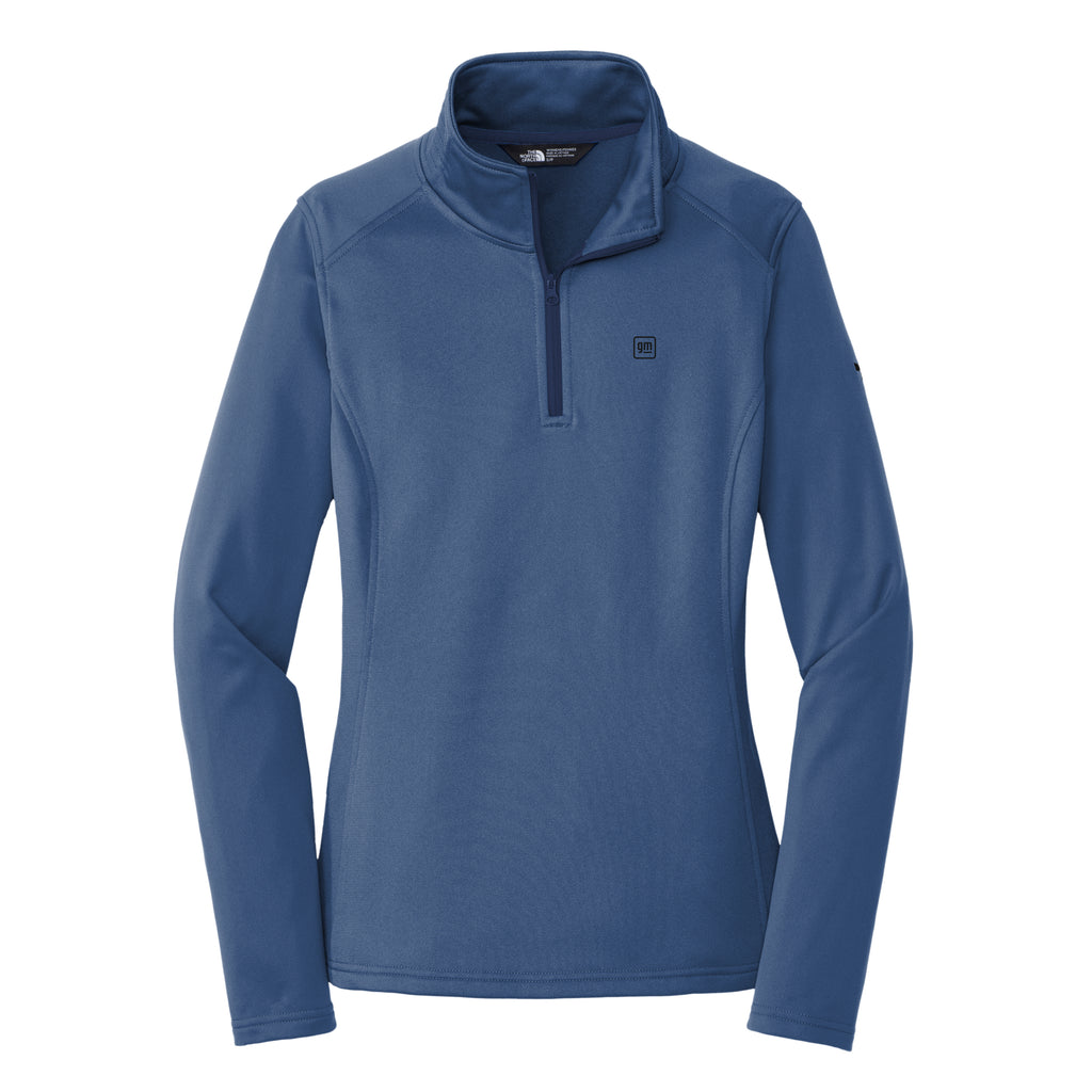 GM The North Face® Ladies Tech 1/4-Zip Fleece