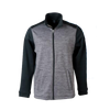 Men's Open Bowtie Colorblock Melange Fleece Jacket - GM Company Store
