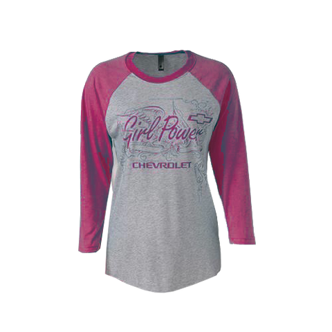 Chevy Girl Power 3/4 Sleeve Tee