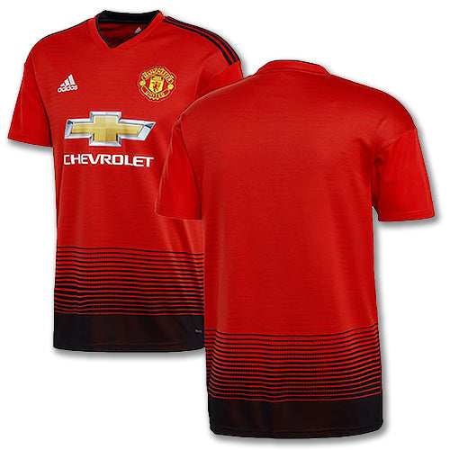 Men's Official Manchester United 2018-19 Home Replica Jersey - GM Company Store