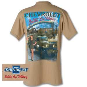 Chevy Salutes Our Military Tee