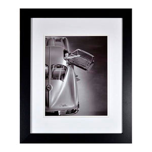 Framed Historic 1963 Corvette Stingray Coupe Print - GM Company Store