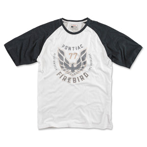 Firebird 3/4 Sleeve - White/Black - GM Company Store
