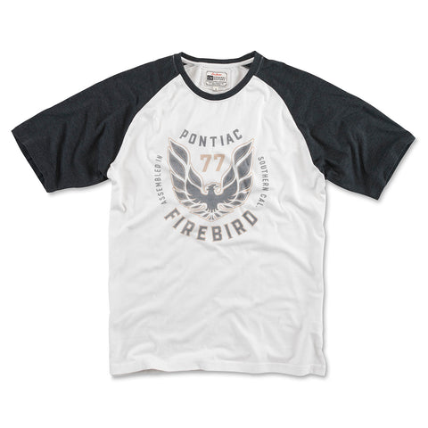 Firebird 3/4 Sleeve - White/Black