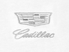 Cadillac New Era Sueded Cotton Tee  White - GM Company Store