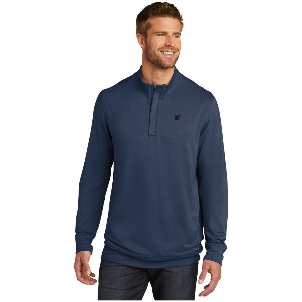GM TravisMathew Newport 1/4-Zip Fleece - blue