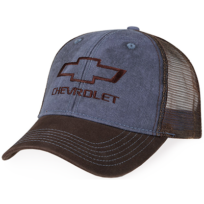 Chevrolet Washed Twill and Mesh Hat