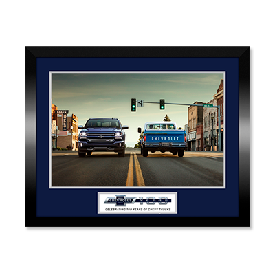 Chevrolet Truck 100 Framed Print - GM Company Store