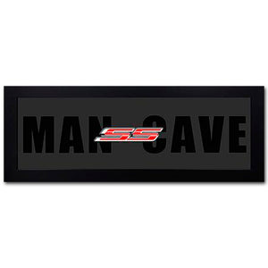 Framed Camaro SS Man Cave Print - GM Company Store