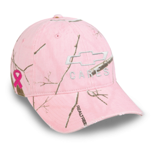 Making Strides Chevrolet Cares Pink Camo Cap