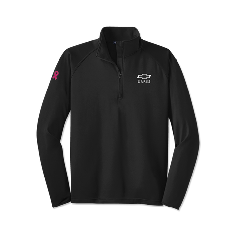 Chevolet Men's Breast Cancer Awareness 1/4 Zip Pullover - GM Company Store