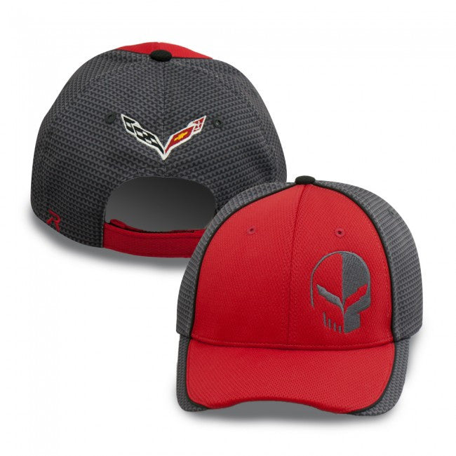 Corvette Racing Jake Cap -Red - GM Company Store