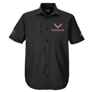 Men's Corvette Racing Button Down Shirt