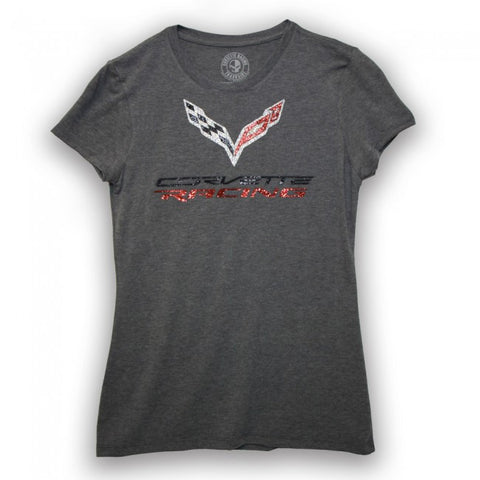 Ladies Corvette Racing Bling Tee