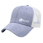 Buick Heathered Polyester Soft Mesh Back Hat