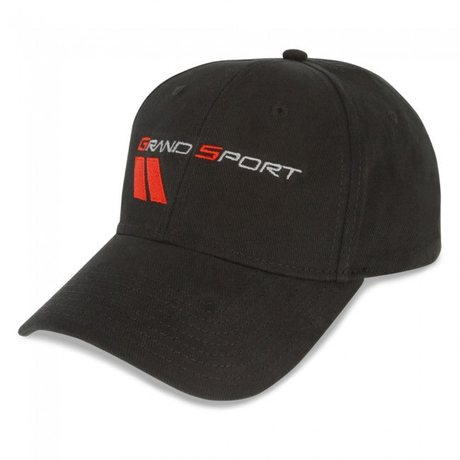 C6 Grand Sport Cap-Black - GM Company Store
