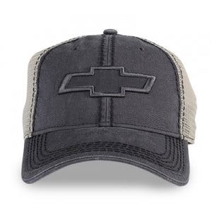 Chevy Grey Cap w/Mesh Back & Open BT - GM Company Store