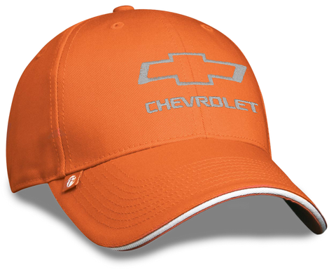 Chevrolet Open Bowtie Orange Cap - GM Company Store