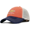 Relaxed Trucker Chevrolet Cap-Orange/Navy/Tan - GM Company Store
