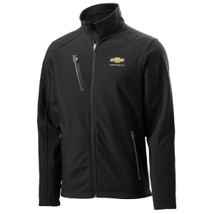 Men's Black Chevrolet Soft Shell Jacket