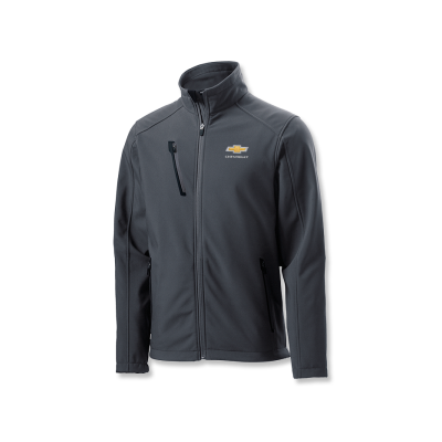 Men's Grey Chevrolet Soft Shell Jacket