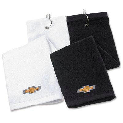 Black Chevrolet Golf Towel - GM Company Store