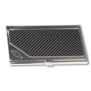 Chevy Business Carbon Fiber Card Holder - GM Company Store