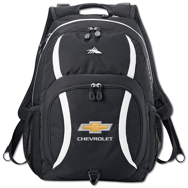 "Chevy Daypack w/BT holds 17"" Laptops - GM Company Store"