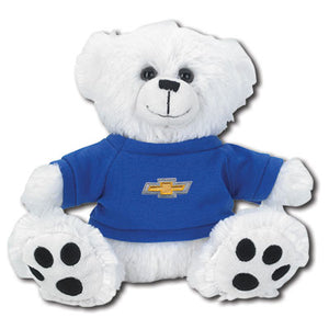 "Chevrolet 8"" Plush White Bear - GM Company Store"