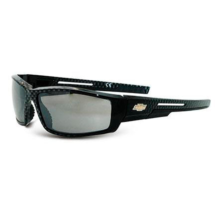 Chevy Sunglasses With Gold Bowtie Grey Lens