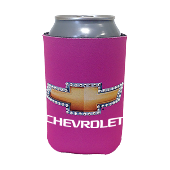Pink Chevrolet Koozie Bling - GM Company Store