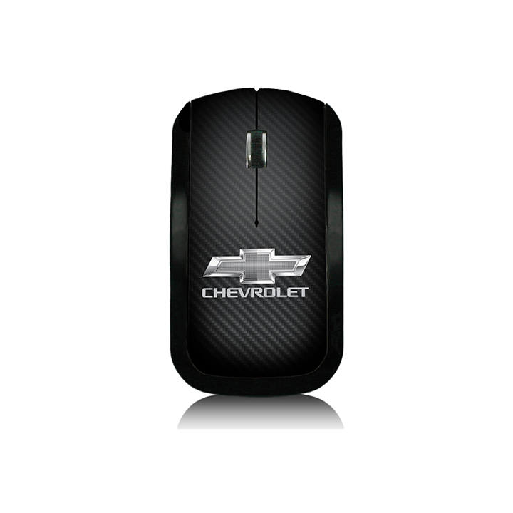 Carbon Fiber Chevrolet Wireless Mouse - GM Company Store