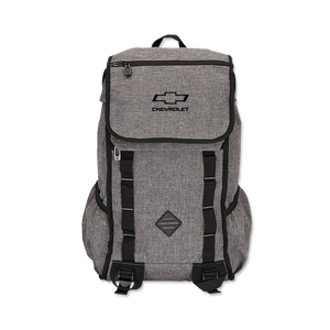 Chevrolet Gray Computer Backpack - GM Company Store